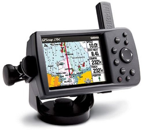 Garmin 010-00331-00 GPSMAP 276C Portable System with Americas Detailed Basemap Color Display, Adjustable marine mounting bracket, 10,000 point automatic track log, 15 saved tracks, WAAS-enabled, 12 parallel channel GPS receiver, Adjustable quad helix receiving antenna with remote antenna capability (0100033100 010-0033100 GPSMAP-276C 276C)
