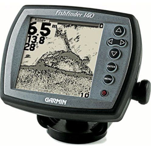 Garmin 010 00460 00 fishfinder 140 system with dual beam for Gps trolling motor for sale