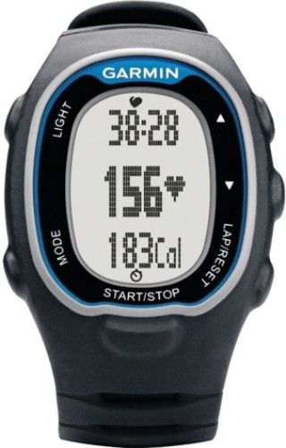 Garmin 010-00743-70 Forerunner 70 Fitness Watch with Heart Rate Monitor, Blue, Display size 0.8
