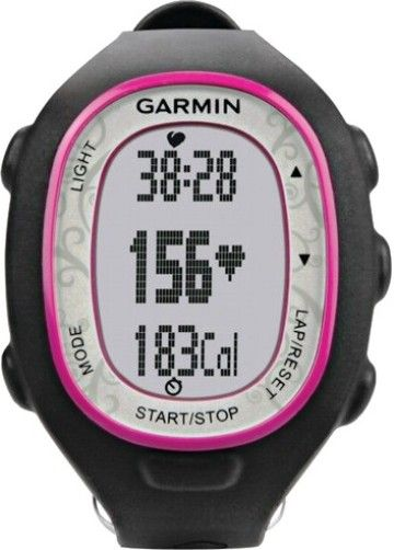 Garmin 010-00743-71 Forerunner 70 Fitness Watch with Heart Rate Monitor, Pink, Display size 0.8