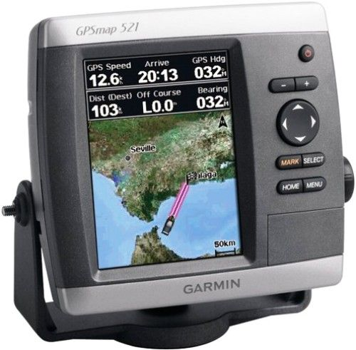 garmin 010 00760 01 gpsmap 521s marine gps receiver with. Black Bedroom Furniture Sets. Home Design Ideas