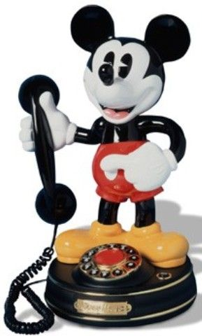 Telemania 023642 Mickey Mouse Animated Phone