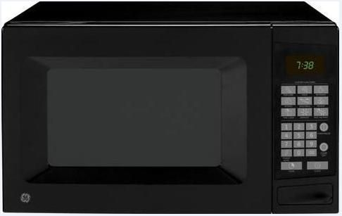 Ge General Electric Jes0738dpbb Countertop Microwave Oven With 700 Cooking Watts 0 7 Cu Ft Total Capacity Compact Unit Electronic Touch