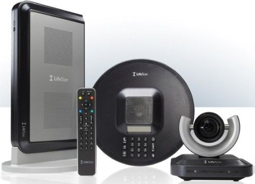 LifeSize 1000-000S-1116 LifeSize Team 200 High Definition Video Conferencing System with LifeSize Phone, SGP, Video Quality High Definition 1280x720 - 30 fps 16x9 format, HD Monitors, HD Cameras Pan-Tilt-Zoom (PTZ), High Definition Audio, External Audio & Video Input/Output (Audio: 4 in, 2 out/Video: 3 in, 2 out), Point-to-Point HD Video Communications (1000000S1116 1000000S-1116 1000-000S1116)