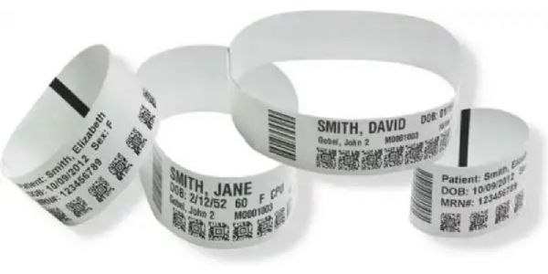 Zebra Technologies 10006995K Model Z-Band Direct Wristbands