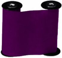 "CMR 1004 Purple Nylon Ribbon for use with the ET and ETC Time Clocks, 2.09"" x 1968' Wax/Resin Ribbon, Equivalent to Acroprint 137000 (B-472/572)"