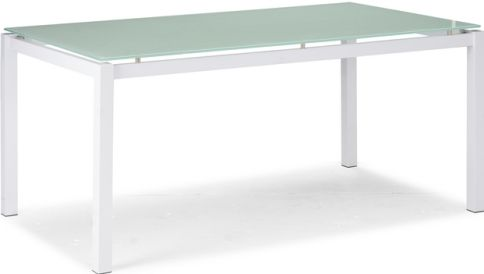 Zuo Modern 102121 Tempered Glass Top Dining Table From The Liftoff  Collection, Elegant Cocktail Table, Tempered Glass Top, Contemporary /  Modern / Glass Top ...