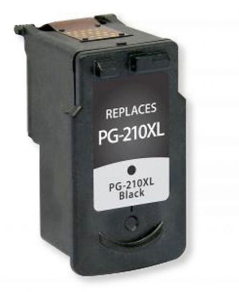 Clover Imaging Group 117200 Remanufactured Black Ink Cartridge for Canon PG-210XL; Yields 401 Prints at 5 Percent Coverage; UPC 801509194265 (CIG 117200 117-200 117 200 2973B001 2973 B001 2973-B-001 PG-210XL PG 210 XL PG-210-XL)