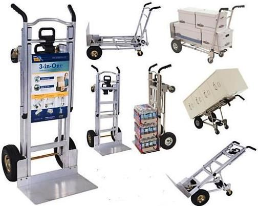 The amazing Cosco 3-in-1 Hand Cart with 1,000 lb. capacity!