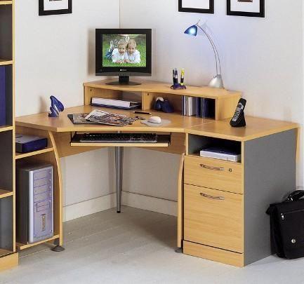 Gautier 123 195 Atlanta Collection Computer Angle Desk