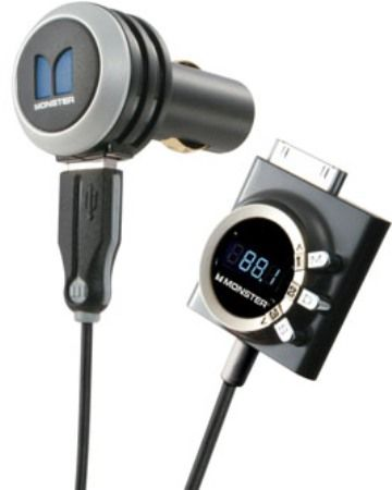 ... iPhone or iPad music over any car stereo systems, 3 programmable