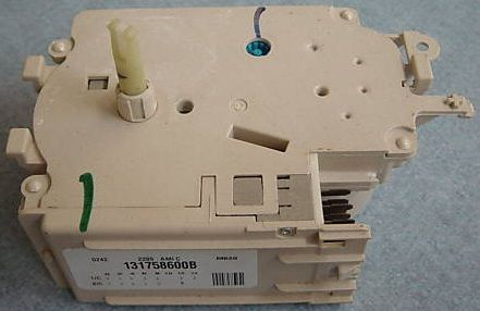 Frigidaire 131758600 Washer Washing Machine Timer, Works on Frigidaire Kenmore GE Gibson Kelvinator Tappan White Westinghouse Washers and Dryers, Replaces 131758600A 131758600B 131758600C 131758600D 96679 PT6322749 PS418697 AP2107583