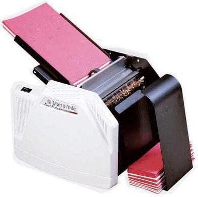 Martin Yale 1501X Auto Letter-Paper Folder, 7,500 sheets per hour, 8 1/2