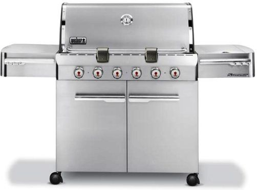 weber summit s620 gas grill stainless steel lp gas propane btuperhour input btuperhour input side burner