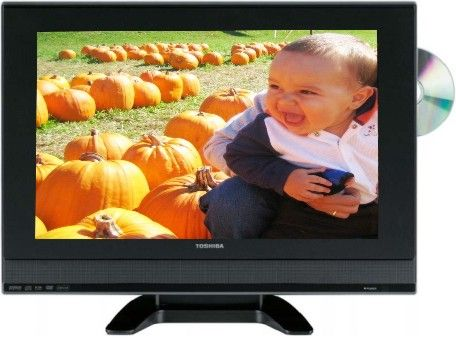 Toshiba 19HLV87 LCD HDTV With DVD Player, 19
