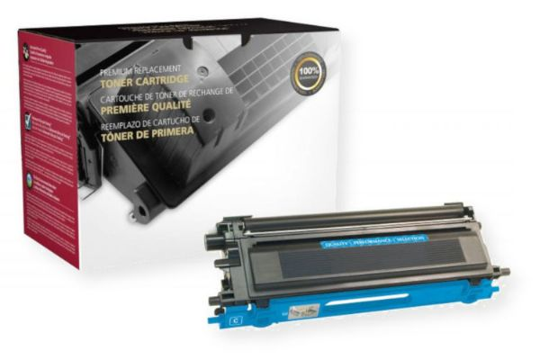 Clover Imaging Group 200466P Remanufactured Extra High Yield Toner Cartridge for Brother TN115C, Cyan Color; Yields 4000 prints at 5 Percent coverage; UPC 801509200843 (CIG 200466P 200-466-P 200466-P TN115C TN-115C TN 115C BRTTN115C BRT-TN115 C BRT TN115C BROTN115-C)
