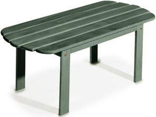 Linon 20154grn 01 Kd Woodstock Adirondack Coffee Table Green Finish Mixed Hardwood Some