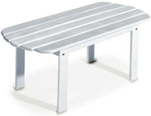Linon 20154WHT 01 KD Woodstock Adirondack Coffee Table White Finish