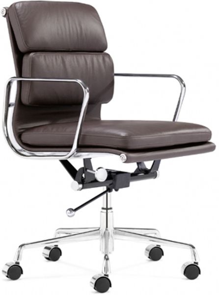 Leather Business Chair Faux Leather Club Chair
