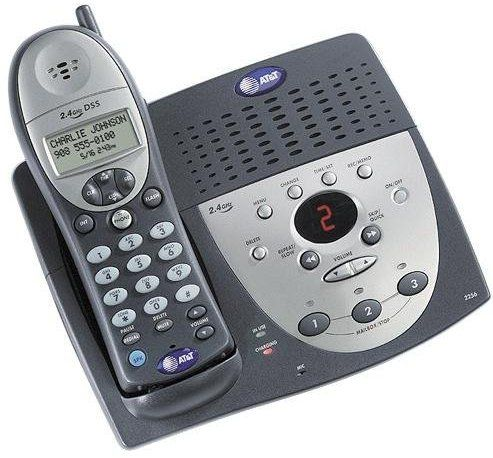 answering machine with phone