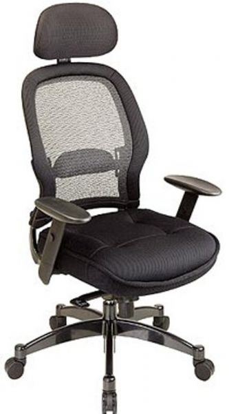 Office Star 25004 Space Collection Deluxe Matrex Back Exec Chair With