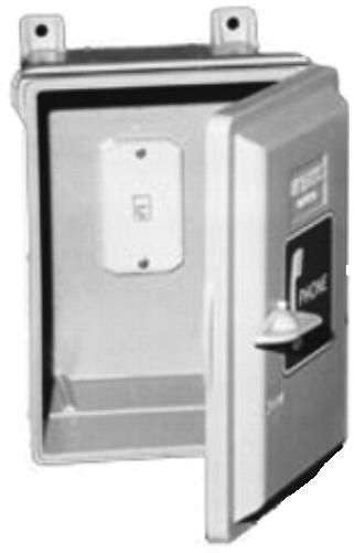 GAI-Tronics 255-001SK Weatherproof Enclosure with Spring Door Return and #630A Mounting Plate to Accommodate a ...  sc 1 st  SaleStores.com & Tronics 255-001SK Weatherproof Enclosure with Spring Door Return ...