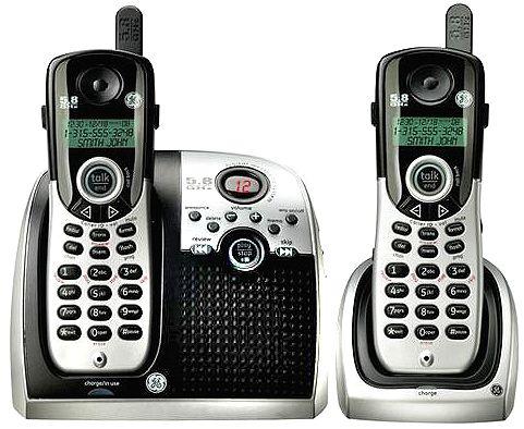 Ge General Electric 25861ge3 Dual Handset Cordless Phone