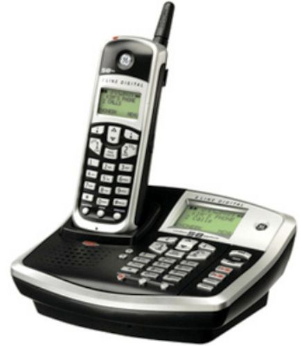 general electric 25865ge3 2 line expandable cordless phone 5 8 ghz rh salestores com general electric 5.8 ghz cordless phone manual Designer Cordless Phones