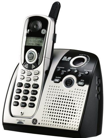 Thomson 25899ge3 Cordless Phone With Digital Answering System And Caller Id 5 8 Ghz Digital Security System