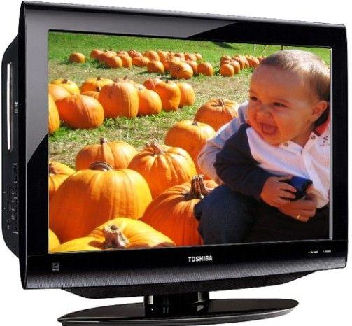 toshiba 26cv100u widescreen 26 u0026quot  class 720p 60hz tv  dvd combo  pixel resolution 1366 x 768