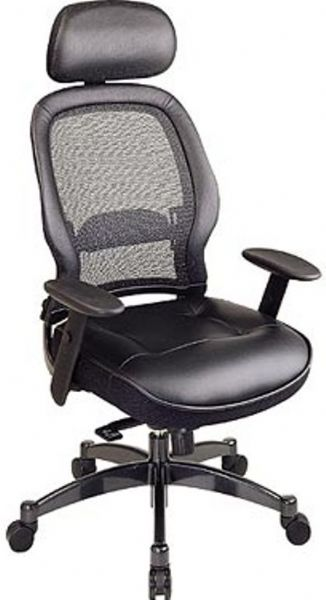 Office Star 27008 Space Collection Deluxe Matrex Back Executive Chair