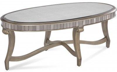 Bassett mirror 2900 140ec model 2900 140 hollywood glam for Table 140 x 70