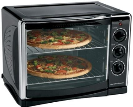 Hamilton Beach 31197R Countertop Oven with Convection and Rotisserie ...