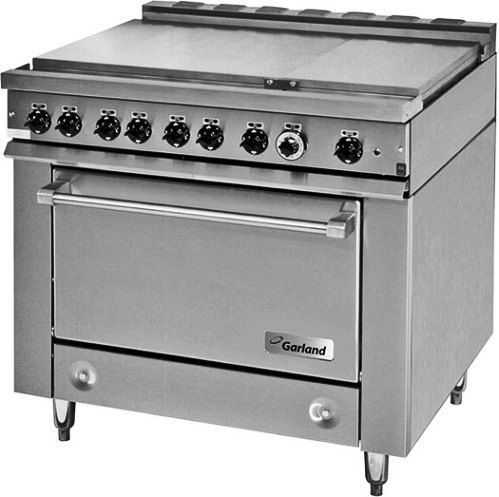 Garland 36ER39 Heavy-Duty Electric Range with 6 Boiler Top Sections ...