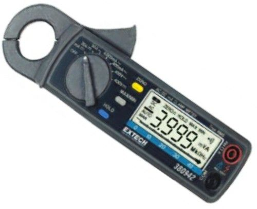 Small Clamp Meter : Extech nist true rms a mini clamp meter with