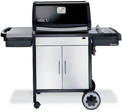 weber 3811001 model spirit e 210 ng natural gas barbecue grill 2 stainless steel burners. Black Bedroom Furniture Sets. Home Design Ideas
