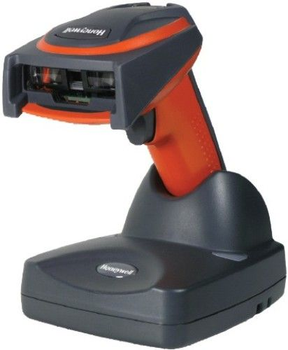 Honeywell 3820ISR-USBKITAE Model 3820i Industrial-Grade Wireless Linear-Imaging Scanner with Cradle/Base, USB cable, Power Supply and AC Line Cord, Linear Image (CCD: 3648 pixels), 270 scans per second, Motion Tolerance 5 cm/s (2 in/s) with 13 mil UPC at optimal focus, Scan Angle Horizontal 47°, Pitch 65º, Skew 65° (3820ISRUSBKITAE 3820ISR USBKITAE 3820I-SR 3820I 3820)