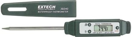 Extech 39240 Waterproof Thermometer, 2.75