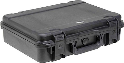 SKB 3i-1813-5B-E Injection Molded Waterproof Case - Empty, Top Handle Carry/Transport Options, Latch Closure Type, Polypropylene Materials, None Interior Contents, 0.7 ft³ Interior Cubic Volume, IP67 IP Rating, Watertight, 20 x 15.2 x 5.5