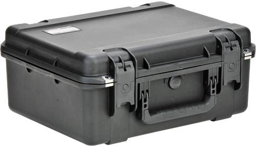 SKB 3i-1914N-8B-C Hard Shell Military Grade Case - with cubed foam, Latch Closure Type, Polypropylene Materials, Top Handle Carry/Transport Options, Interior Contents Cube/Diced Foam, 1.3 ft³ Interior Cubic Volume, -40 to 210°F Storage Temperature, 14.5