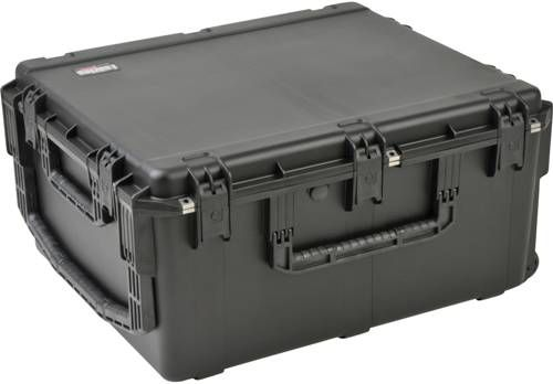 SKB 3i-3026-15BC iSeries 3026-15 Waterproof Utility Case - with Cubed Foam, Latch Closure Type, Polypropylene Materials, Interior Contents Cube/Diced Foam, Molded-in hinges, 13.5