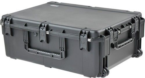 SKB 3i-3424-12BE iSeries Pro Audio Waterproof Utility Case - Empty, Molded-in hinges, Latch Closure Type, Polypropylene Materials, Interior Contents None, 2
