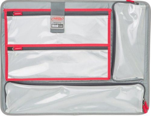 SKB 3i-LO2217-TT Think Tank Designed Lid Laptop Organizer, Laminated zippered clear mesh pockets, Polyester-lined iPad/Laptop top-load pocket, For Use with iSeries 2217 Case, UPC 789270100435 (3I-LO2217-TT 3I LO2217 TT 3ILO2217TT)