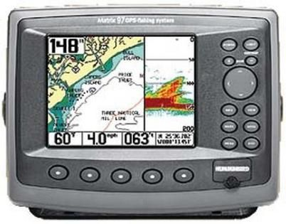 4059601xgr model matrix 97 combo fish finder and gps chartplotter, Fish Finder