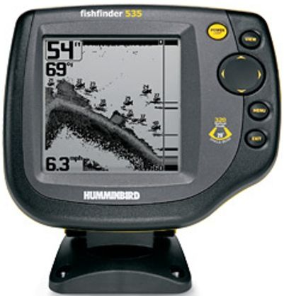 humminbird 4059701 model 535 fish finder, 5-inch diagonal display, Fish Finder