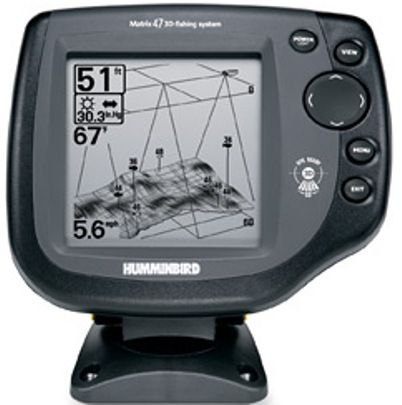 "humminbird 4061601 model matrix 47 3d fish finder, 5"" diagonal, Fish Finder"