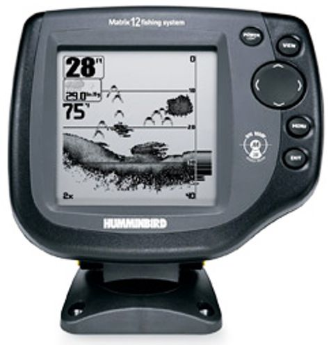 Humminbird 4062901 fishfinder matrix 12 5 240v x 240h for Hummingbird fish finder parts