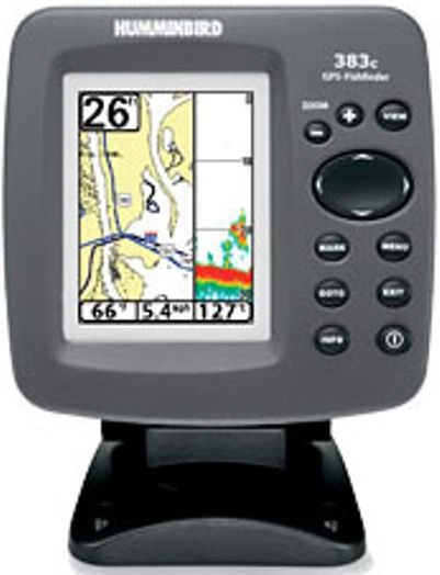 humminbird 4065401 model 383c combo fish finder and gps, Fish Finder