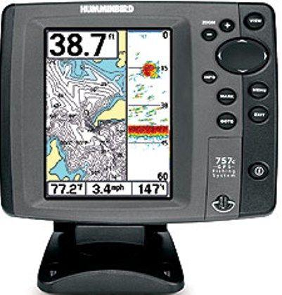 Humminbird 4067501 model 757c combo color fish finder and for Hummingbird fish finder models
