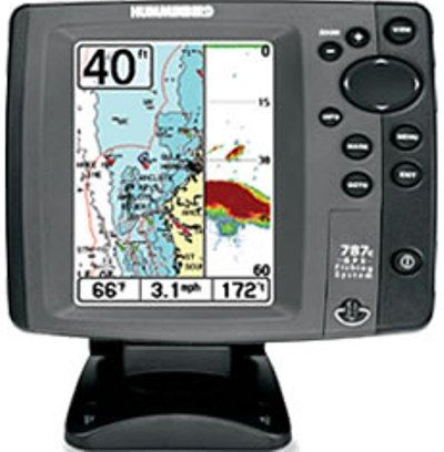 humminbird 4067601v model 787c2i combo nvb color fish finder with, Fish Finder